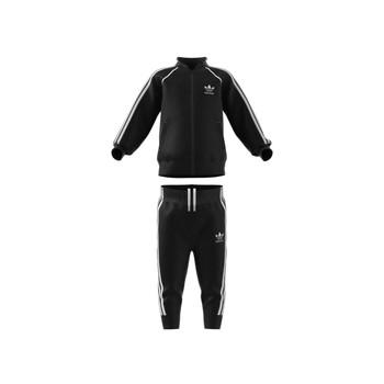 tekstylia Dziecko Zestawy dresowe adidas Originals GN8441 Czarny
