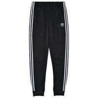 tekstylia Dziecko Spodnie dresowe adidas Originals GIANNY Czarny