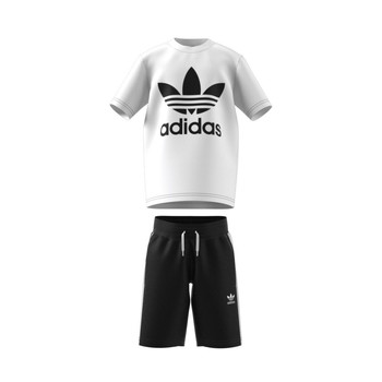 tekstylia Dziecko Komplet adidas Originals COLIPA Biały