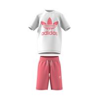 tekstylia Dziecko Komplet adidas Originals GP0195 Biały