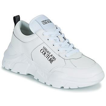 Buty Męskie Trampki niskie Versace Jeans Couture MINOTA Biały
