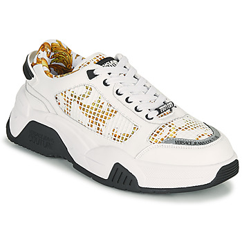 Buty Męskie Trampki niskie Versace Jeans Couture HATINA Biały / Złoty