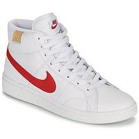 Buty Męskie Trampki niskie Nike COURT ROYALE 2 MID Biały / Czerwony