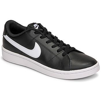 Buty Męskie Trampki niskie Nike COURT ROYALE 2 LOW Czarny / Biały