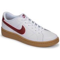 Buty Męskie Trampki niskie Nike COURT ROYALE 2 LOW Biały / Czerwony