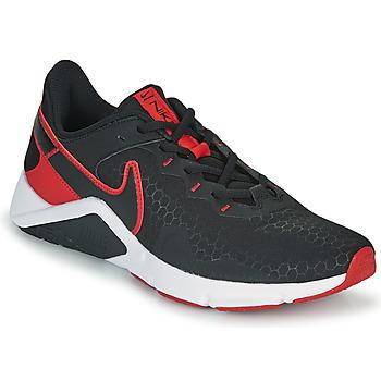 Buty Męskie Multisport Nike LEGEND ESSENTIAL 2 Czarny / Czerwony