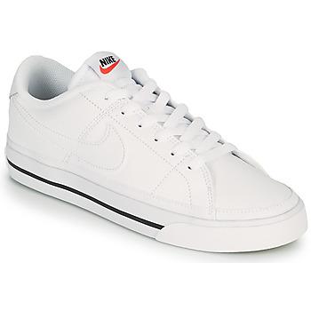 Buty Damskie Trampki niskie Nike COURT LEGACY Biały