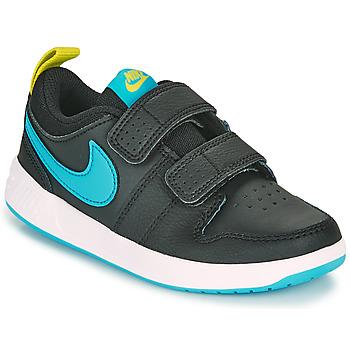 Buty Chłopiec Trampki niskie Nike PICO 5 PS Czarny / Niebieski