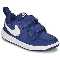 Buty Chłopiec Trampki niskie Nike PICO 5 PS Niebieski / Biały