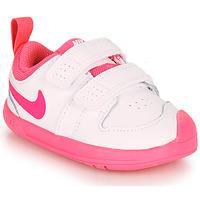Buty Dziewczynka Trampki niskie Nike PICO 5 TD Biały / Różowy