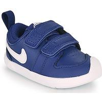 Buty Chłopiec Trampki niskie Nike PICO 5 TD Niebieski / Biały