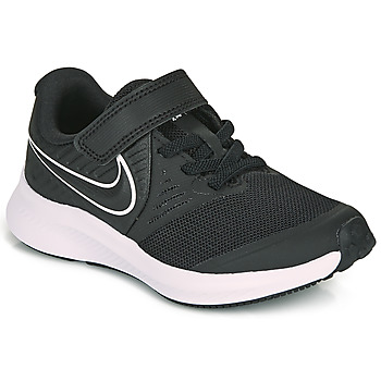 Buty Dziecko Multisport Nike STAR RUNNER 2 PS Czarny / Biały
