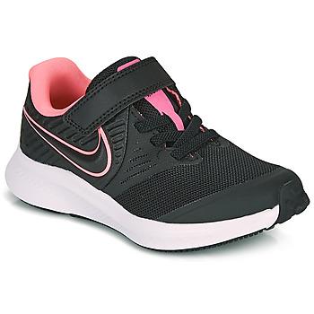 Buty Dziewczynka Multisport Nike STAR RUNNER 2 PS Czarny / Różowy