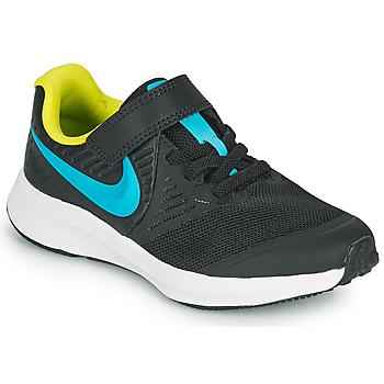 Buty Chłopiec Multisport Nike STAR RUNNER 2 PS Czarny / Niebieski