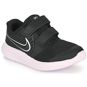 Buty Dziecko Multisport Nike STAR RUNNER 2 TD Czarny / Biały