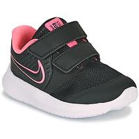 Buty Dziewczynka Multisport Nike STAR RUNNER 2 TD Czarny / Różowy