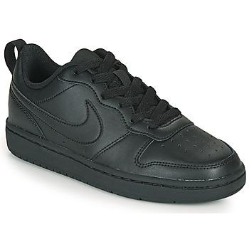 Buty Dziecko Trampki niskie Nike COURT BOROUGH LOW 2 GS Czarny