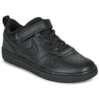 Buty Dziecko Trampki niskie Nike COURT BOROUGH LOW 2 PS Czarny