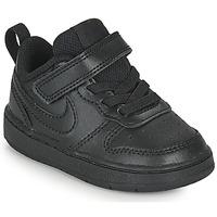 Buty Dziecko Trampki niskie Nike COURT BOROUGH LOW 2 TD Czarny