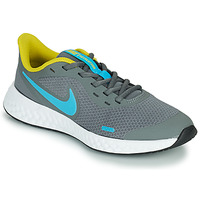 Buty Chłopiec Multisport Nike REVOLUTION 5 GS Szary / Niebieski