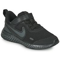 Buty Dziecko Multisport Nike REVOLUTION 5 PS Czarny