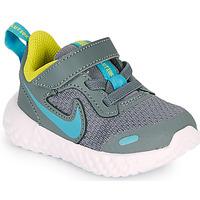 Buty Chłopiec Multisport Nike Revolution 5 TD Szary / Niebieski