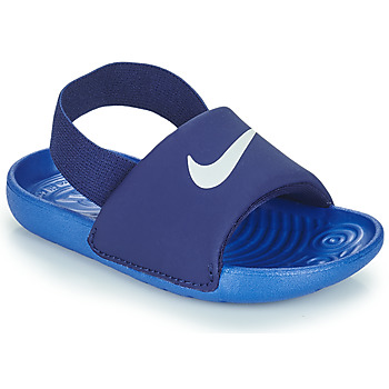 Buty Chłopiec klapki Nike NIKE KAWA TD Niebieski