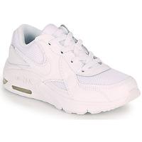 Buty Dziecko Trampki niskie Nike AIR MAX EXCEE PS Biały