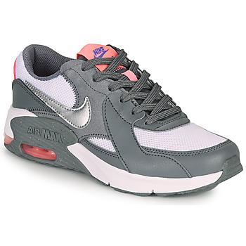 Buty Dziewczynka Trampki niskie Nike AIR MAX EXCEE GS Szary / Różowy
