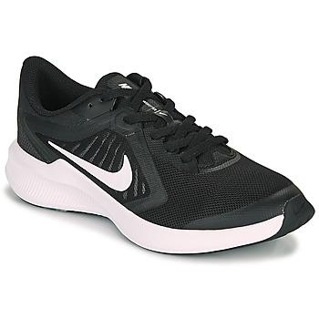 Buty Dziecko Multisport Nike DOWNSHIFTER 10 GS Czarny / Biały