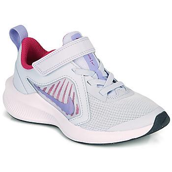 Buty Dziewczynka Multisport Nike DOWNSHIFTER 10 PS Niebieski / Fioletowy