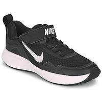 Buty Dziecko Multisport Nike WEARALLDAY PS Czarny / Biały