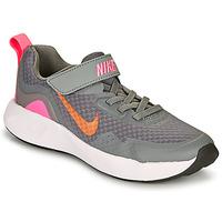 Buty Dziewczynka Multisport Nike WEARALLDAY PS Szary / Różowy