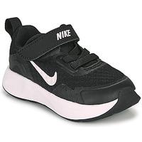 Buty Dziecko Multisport Nike WEARALLDAY TD Czarny / Biały