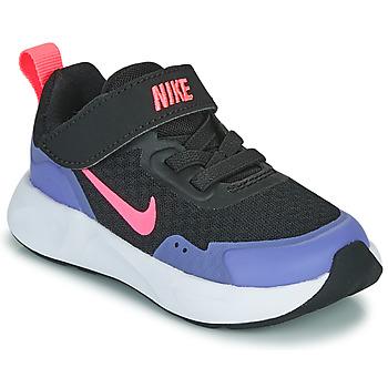 Buty Dziewczynka Multisport Nike WEARALLDAY TD Czarny / Niebieski