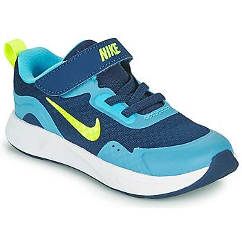 Buty Chłopiec Multisport Nike WEARALLDAY TD Niebieski / Zielony