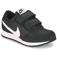 Buty Dziecko Trampki niskie Nike MD VALIANT PS Czarny / Biały