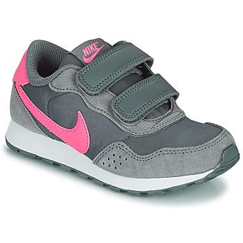Buty Dziewczynka Trampki niskie Nike MD VALIANT PS Szary / Różowy
