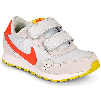 Buty Dziewczynka Trampki niskie Nike MD VALIANT PS Beżowy / Czerwony