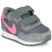 Buty Dziewczynka Trampki niskie Nike MD VALIANT TD Szary / Różowy