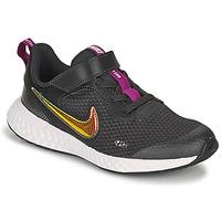 Buty Dziewczynka Trampki niskie Nike REVOLUTION 5 SE PS Czarny