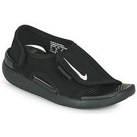 Buty Dziecko klapki Nike Sunray Adjust 5 V2 PS Czarny