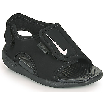 Buty Dziecko klapki Nike SUNRAY ADJUST 5 V2 TD Czarny