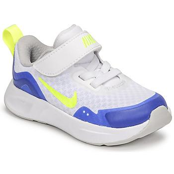Buty Dziecko Multisport Nike NIKE WEARALLDAY Biały / Niebieski / Zielony