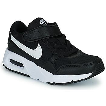 Buty Dziecko Trampki niskie Nike NIKE AIR MAX SC (PSV) Czarny / Biały
