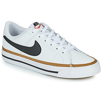 Buty Dziecko Trampki niskie Nike NIKE COURT LEGACY (PSV) Biały / Czarny