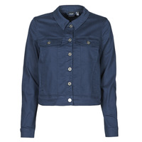 tekstylia Damskie Kurtki jeansowe Vero Moda VMHOTSOYA Marine