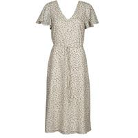 tekstylia Damskie Sukienki krótkie Vero Moda VMJOT Beżowy