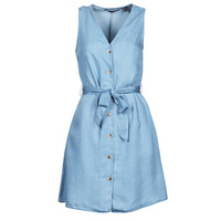 tekstylia Damskie Sukienki krótkie Vero Moda VMVIVIANA Niebieski / Clair