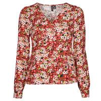 tekstylia Damskie Koszule Vero Moda VMSIMPLY EASY Czerwony